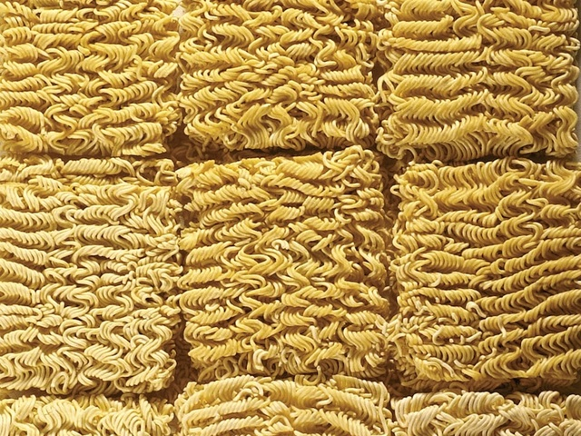 Ramen noodles top prison currency as food quality down