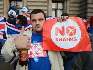 Scotland considering UK split after Brexit vote