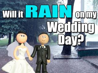 How to guarantee a rain-free, outdoor wedding