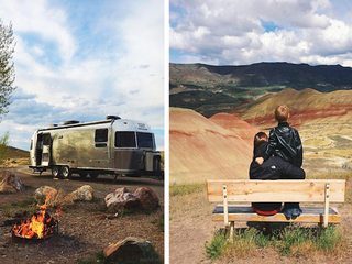 Family sells all to travel world in Airstream