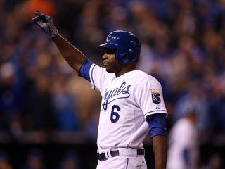 Royals place Cain on DL with hamstring injury