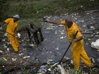AP test: Rio Olympic water badly polluted
