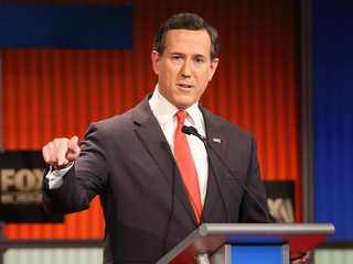 Rick Santorum ends campaign, backs Rubio