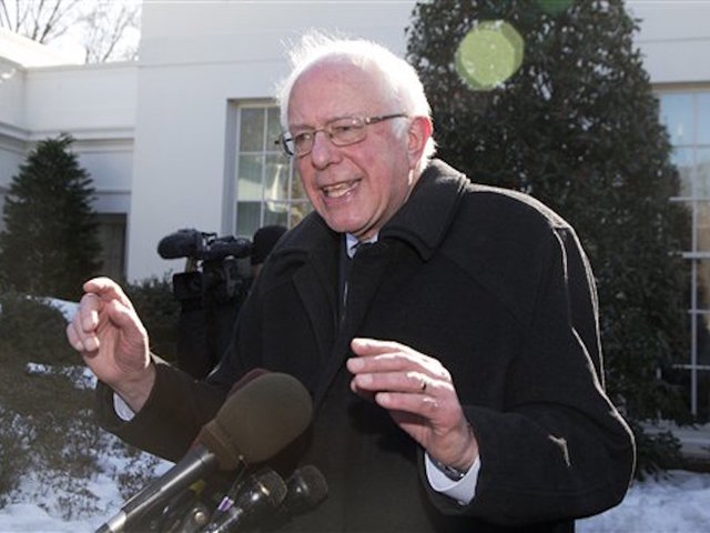 Sanders in secret meeting with Obama