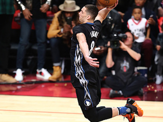 LaVine, Gordon put on thriller in Dunk Contest