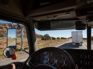 Driverless trucks won't be stealing jobs