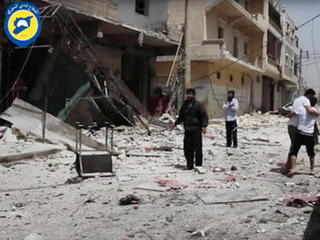 Airstrikes, shelling kill dozens in Syria