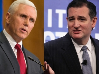Indiana Gov. Mike Pence endorses Ted Cruz