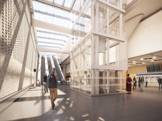 See inside London's new Crossrail stations
