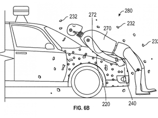 Google patents 'human flypaper' for cars