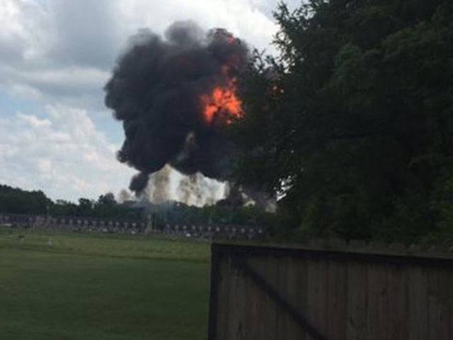 Blue Angel jet crashes outside of Nashville