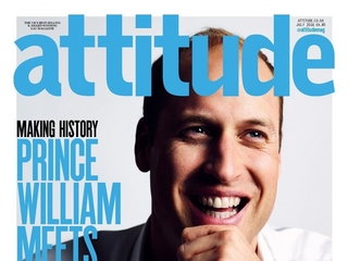 Prince William to appear on gay magazine's cover