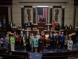 House Democrats end sit-in