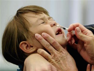 Nasal spray flu vaccines didn't protect kids
