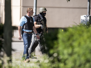 German police kill gunman inside movie theater