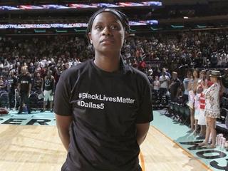 WNBA president lauds off court activism