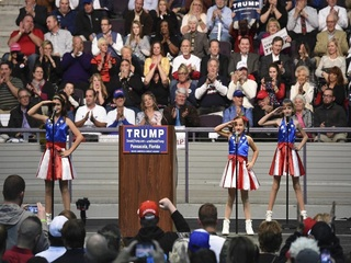 Dad behind pro-Trump girl group suing campaign