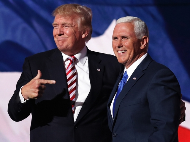 Gov. Mike Pence I Cannot Defend Donald Trump