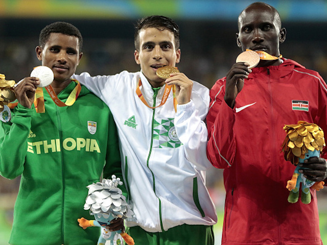 Paralympics: Top 4 in 1500m faster than Olympic gold victor