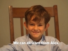 US boy writes letter to Obama about Syrian boy