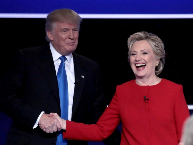 AP: Clinton gets under Trump's skin in debate