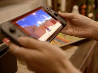 Nintendo Switch is both console and handheld