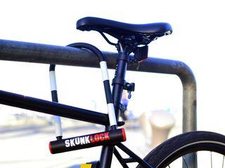 Bike lock sprays thieves with awful smell