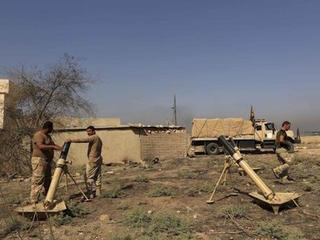 Iraq forces shell IS near Mosul