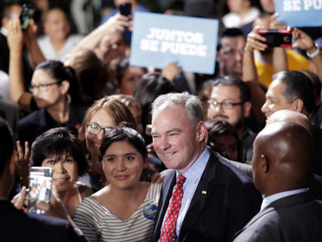 VP candidate Kaine to deliver Phoenix speech in Spanish
