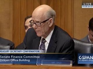 Sen. Roberts asks if Sen. Wyden wants a Valium