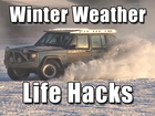 Life hacks to get you through winter's last week