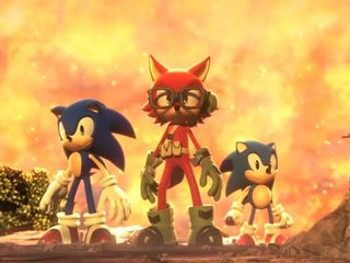 'Sonic Forces' introduces custom characters