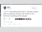 Newark Airport clears suspicious package
