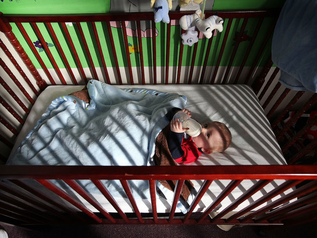 Babies may sleep longer in their own rooms