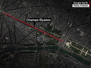 Prosecutor: Champs-Elysees attacker tied to ISIS