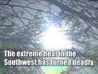 Record breaking heat will last through next week