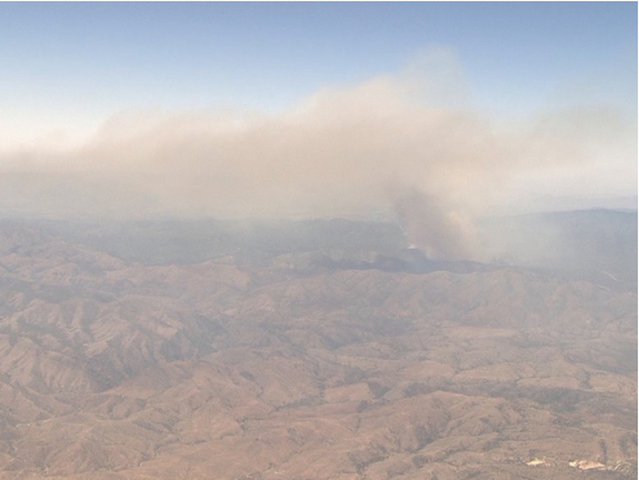 Drone flying near Goodwin Fire forces grounding of aircraft fire operations