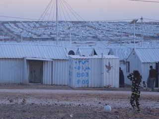 Azraq refugee camp in Jordan uses solar energy