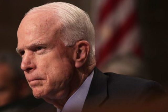 McCain returns to office after Cancer Diagnosis