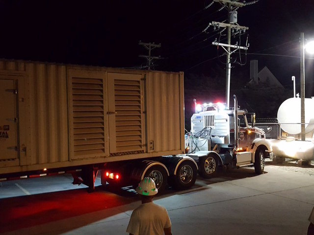 Ocracoke, Hatteras Residents Could Be On Generator Power For Two Weeks