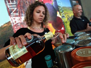 Diluting whiskey with water can enhance flavor