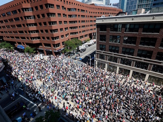 Photos: Big marches held in Boston, other cities