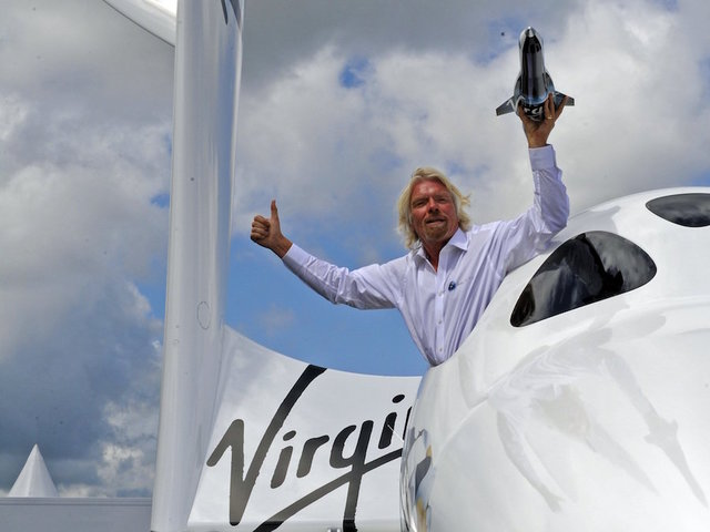 Sir Richard Branson riding out Hurricane Irma on his private island