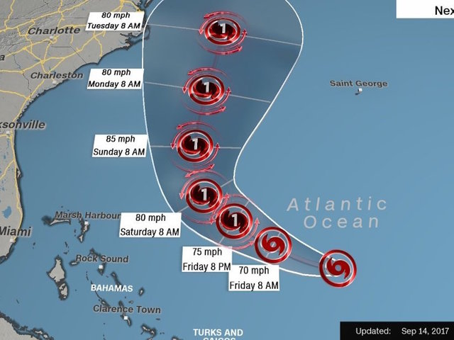 Jose still in the Atlantic: NOT an imminent U.S. threat