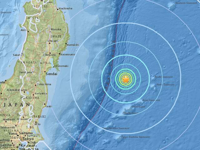 2-magnitude natural disaster strikes Japanese coast