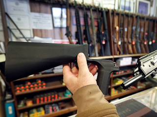 Bump stocks out of stock in KC metro area