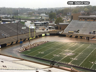 College drains 1M gallons of water from stadium