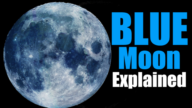 Don't miss the 2nd blue moon of the year this Saturday