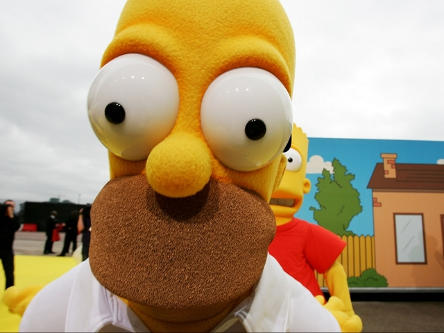 'Homer Simpson' pulled over by United Kingdom  police