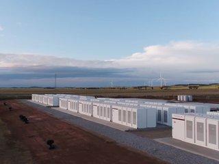 Tesla finishes mega battery in South Australia